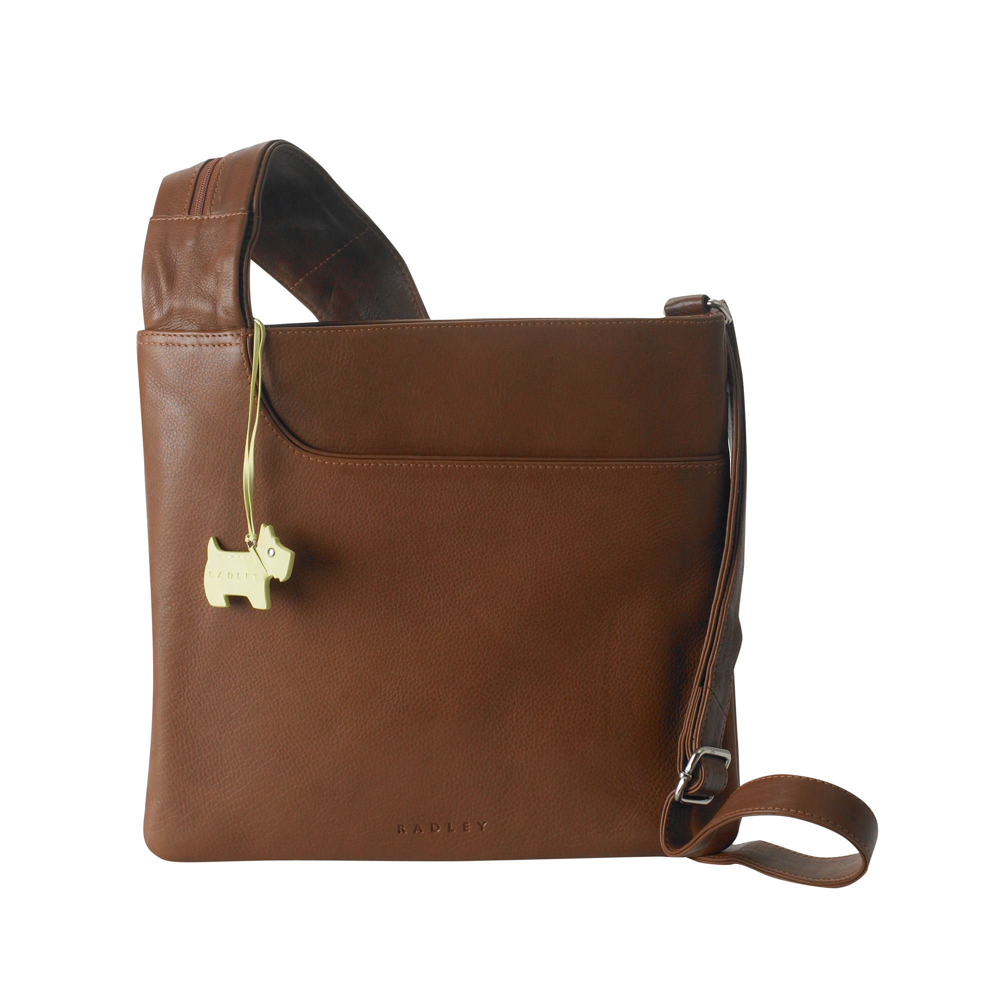 Pocket Bag large leather cross body bag