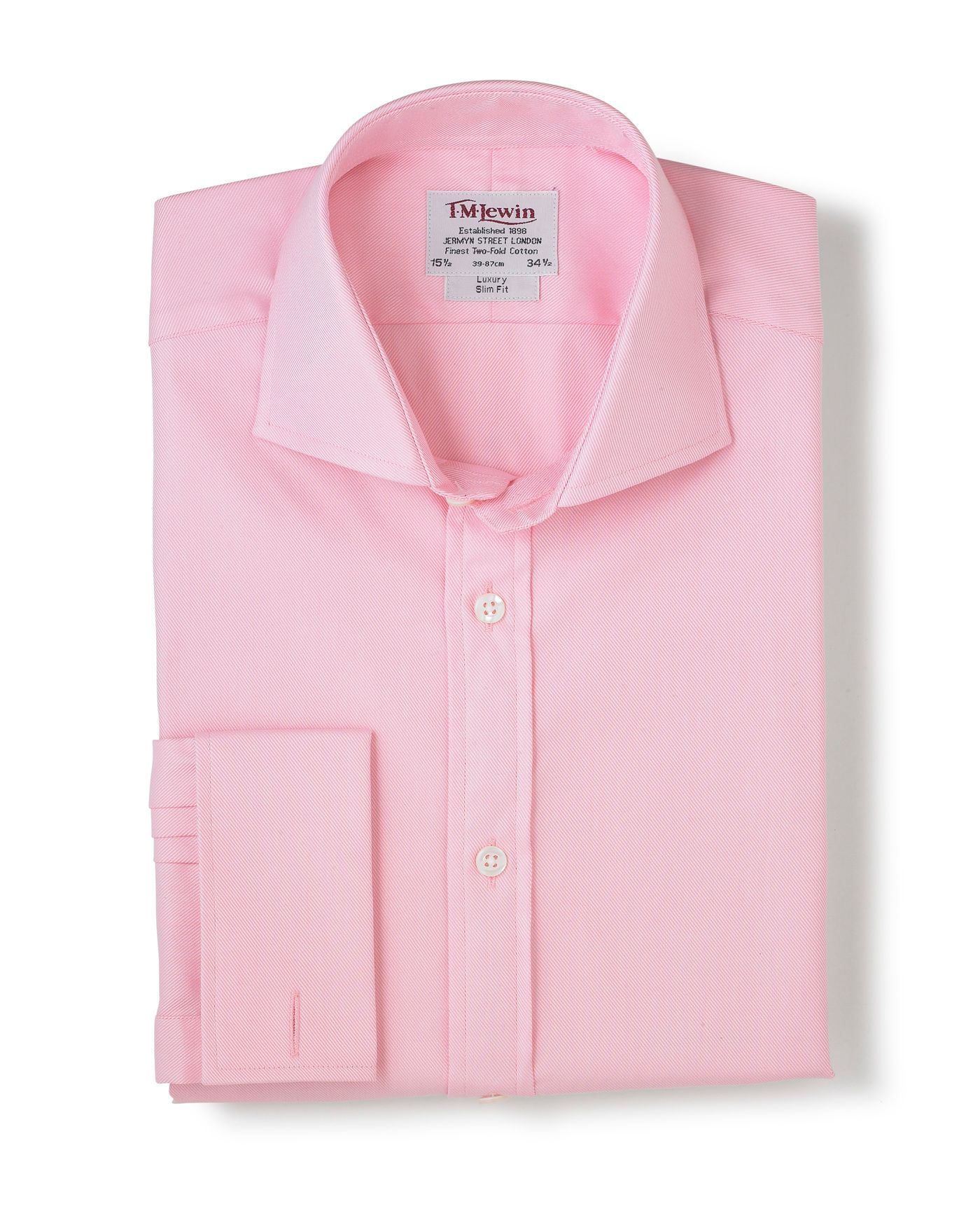 Luxury pink shirt