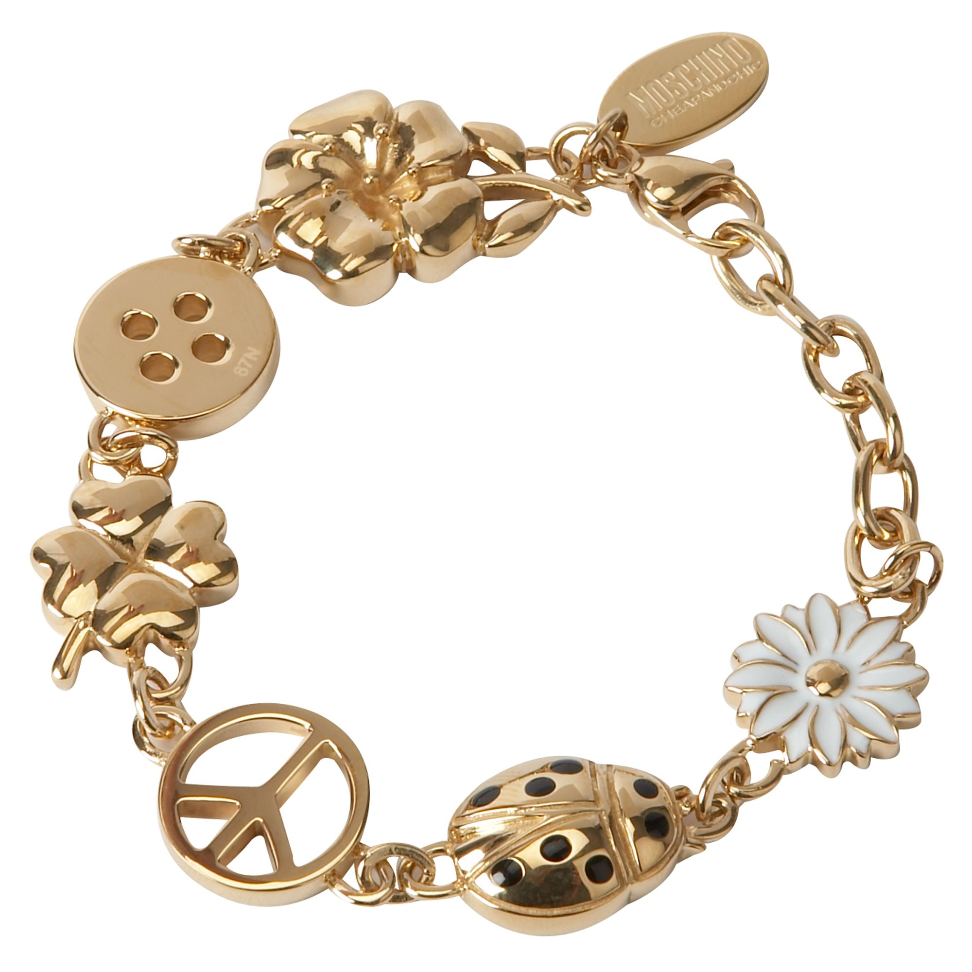 moschino cheap jewellery