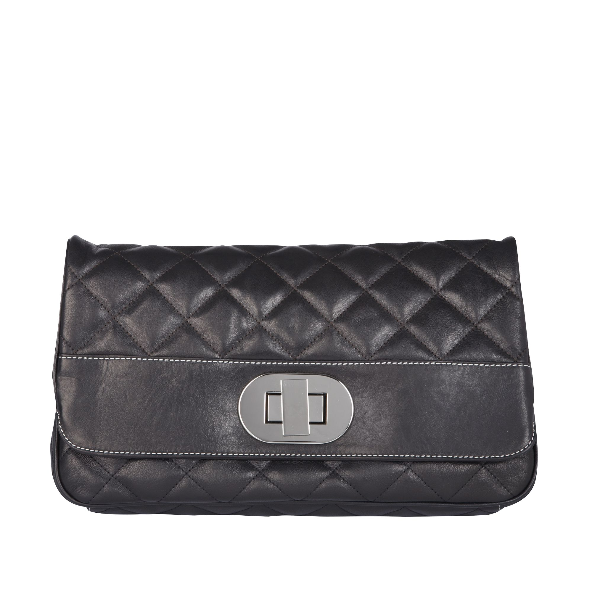 Tania large quilted leather