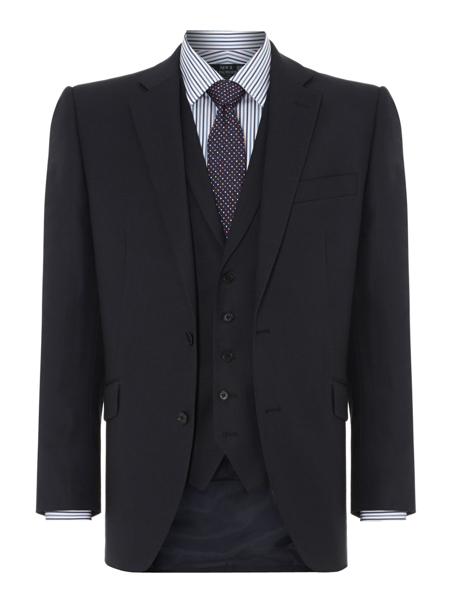 Richmond birdseye suit jacket