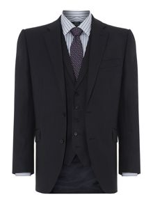 New & Lingwood Richmond birdseye suit jacket