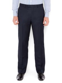 New & Lingwood Richmond birdseye suit trousers