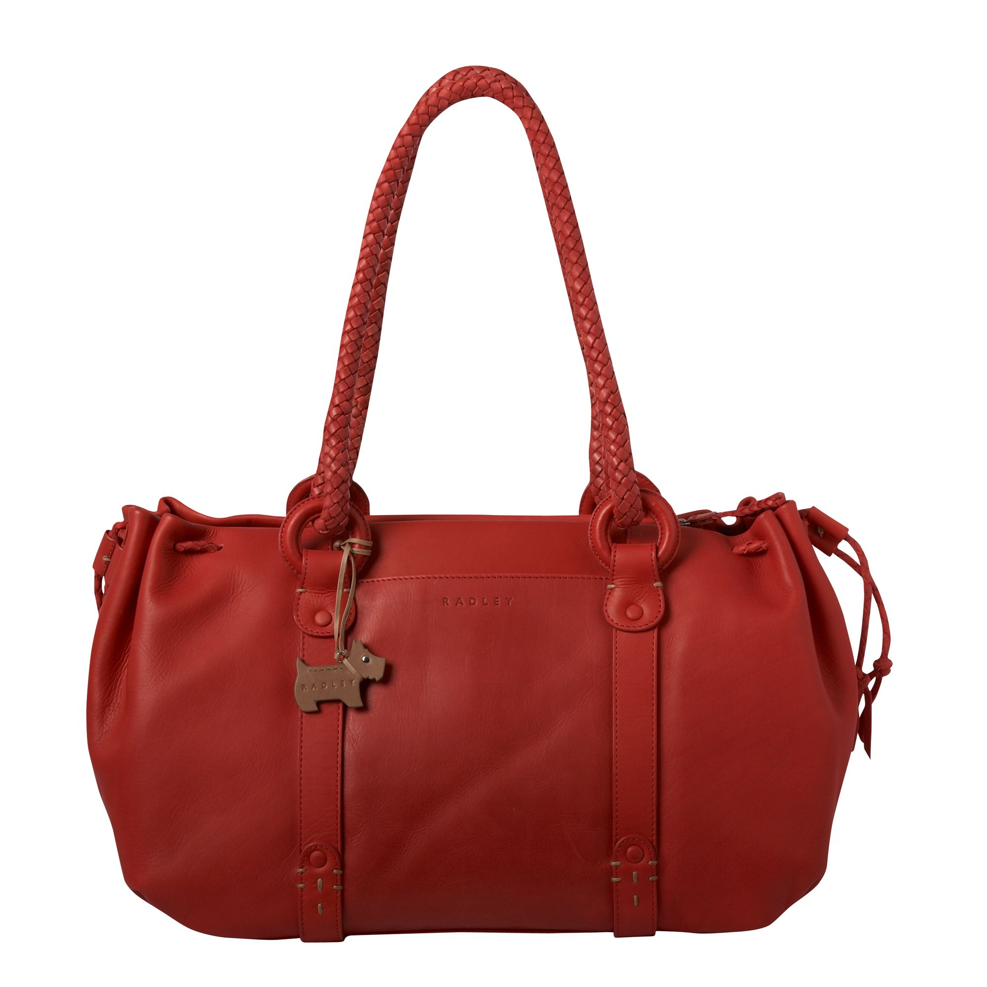 Poppy large shoulder bowling bag