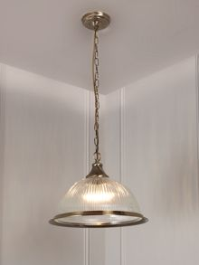 American diner ceiling pendant