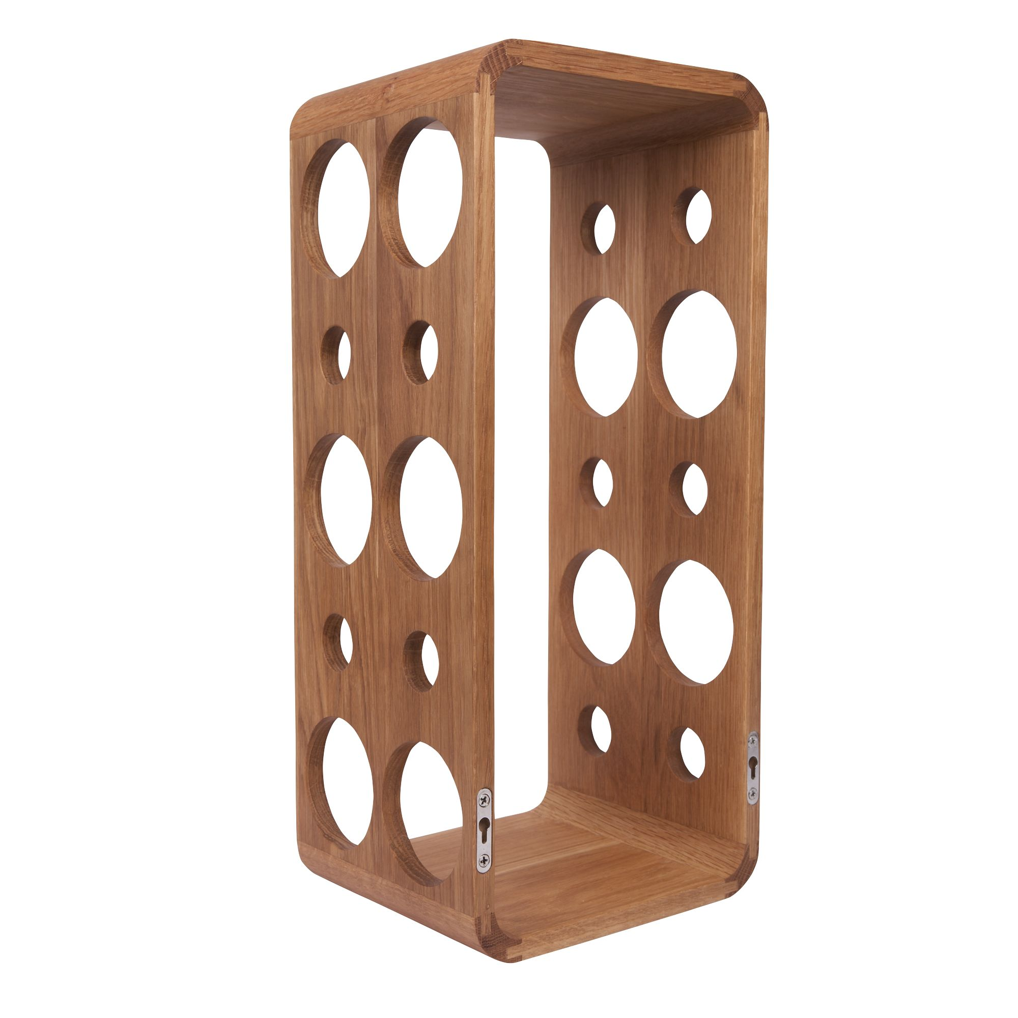 Linea Solid Oak Wine Rack Review Compare Prices Buy Online