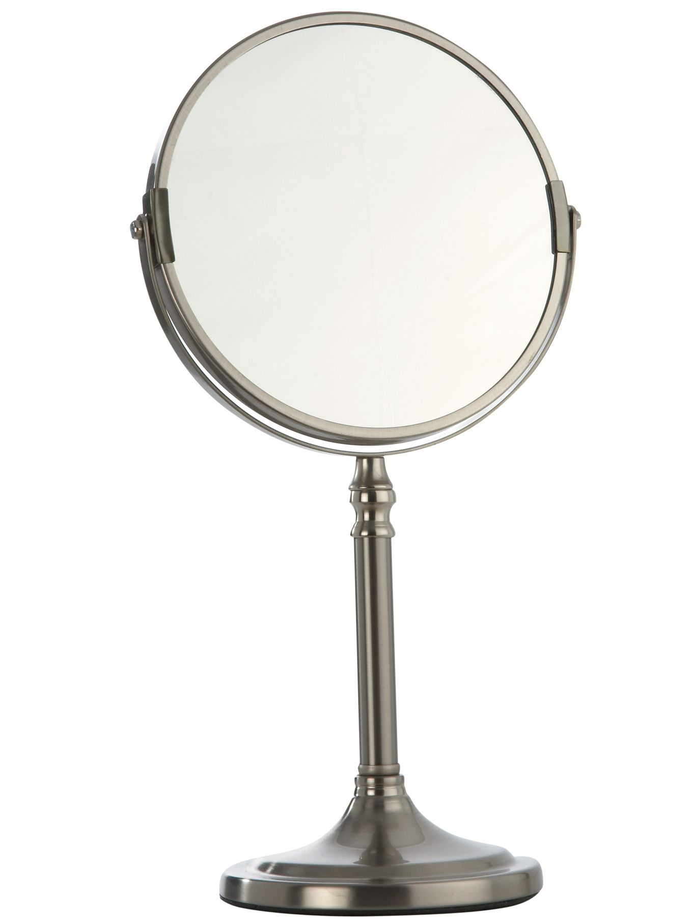 Linea Brushed Chrome Magnifying Mirror Silver Gay Times Uk
