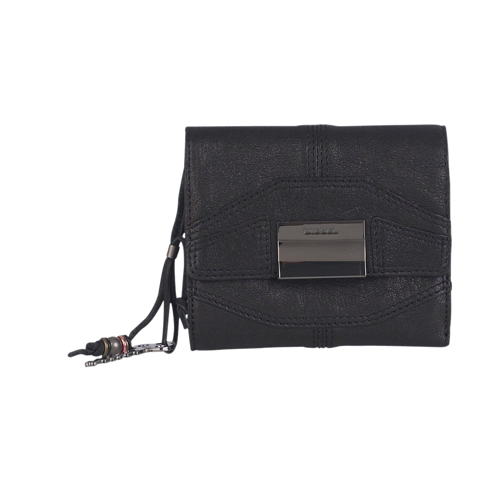 Diesel Eliodoro small leather flap over wallet product image