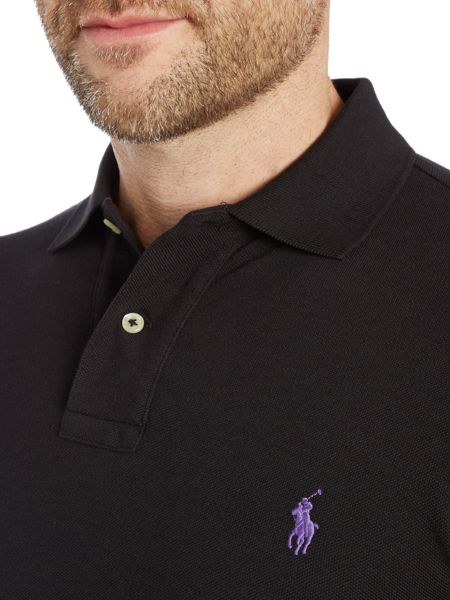 Polo Ralph Lauren Short-sleeve slim-fit polo shirt