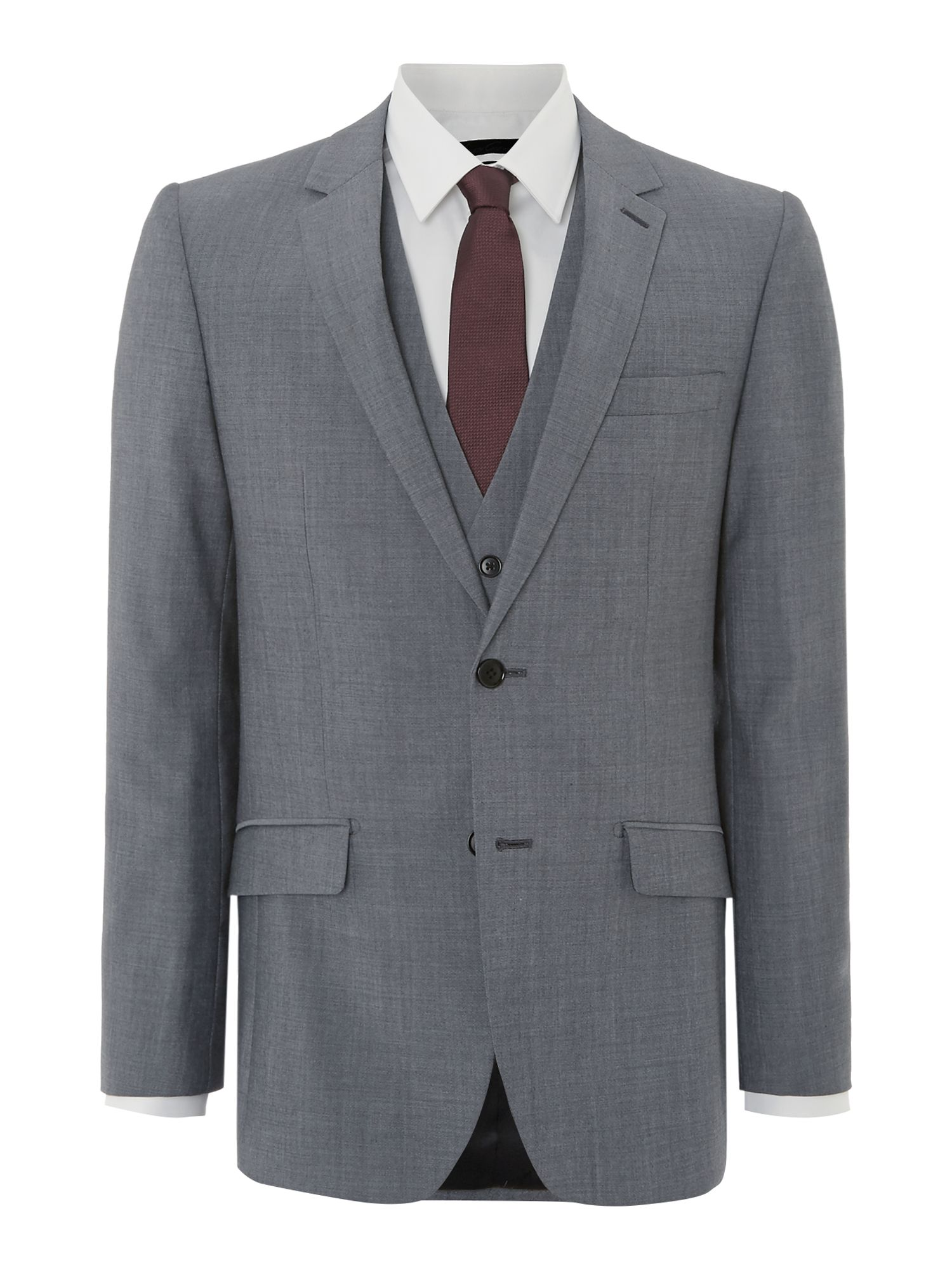 Wool mohair suit jacket