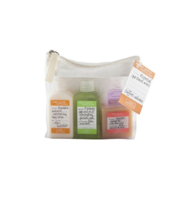 Essential Travel Minis in Wash Bag