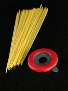Adjustable Spaghetti Measure - Red/Grey