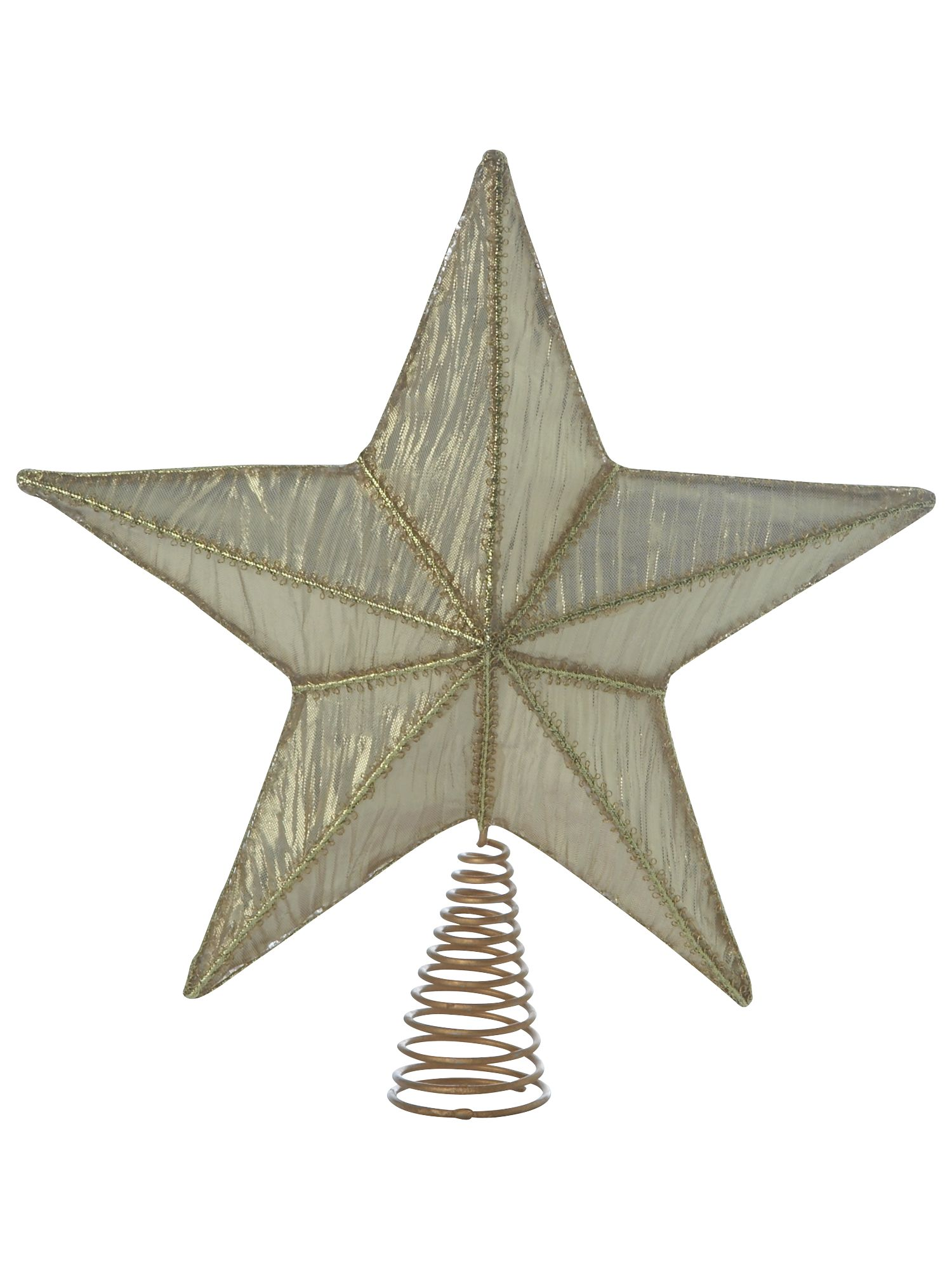 Renaissance gold tree topper