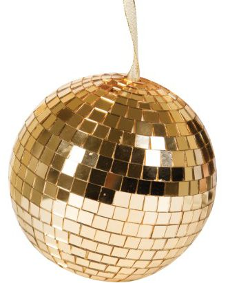 Renaissance gold disco ball