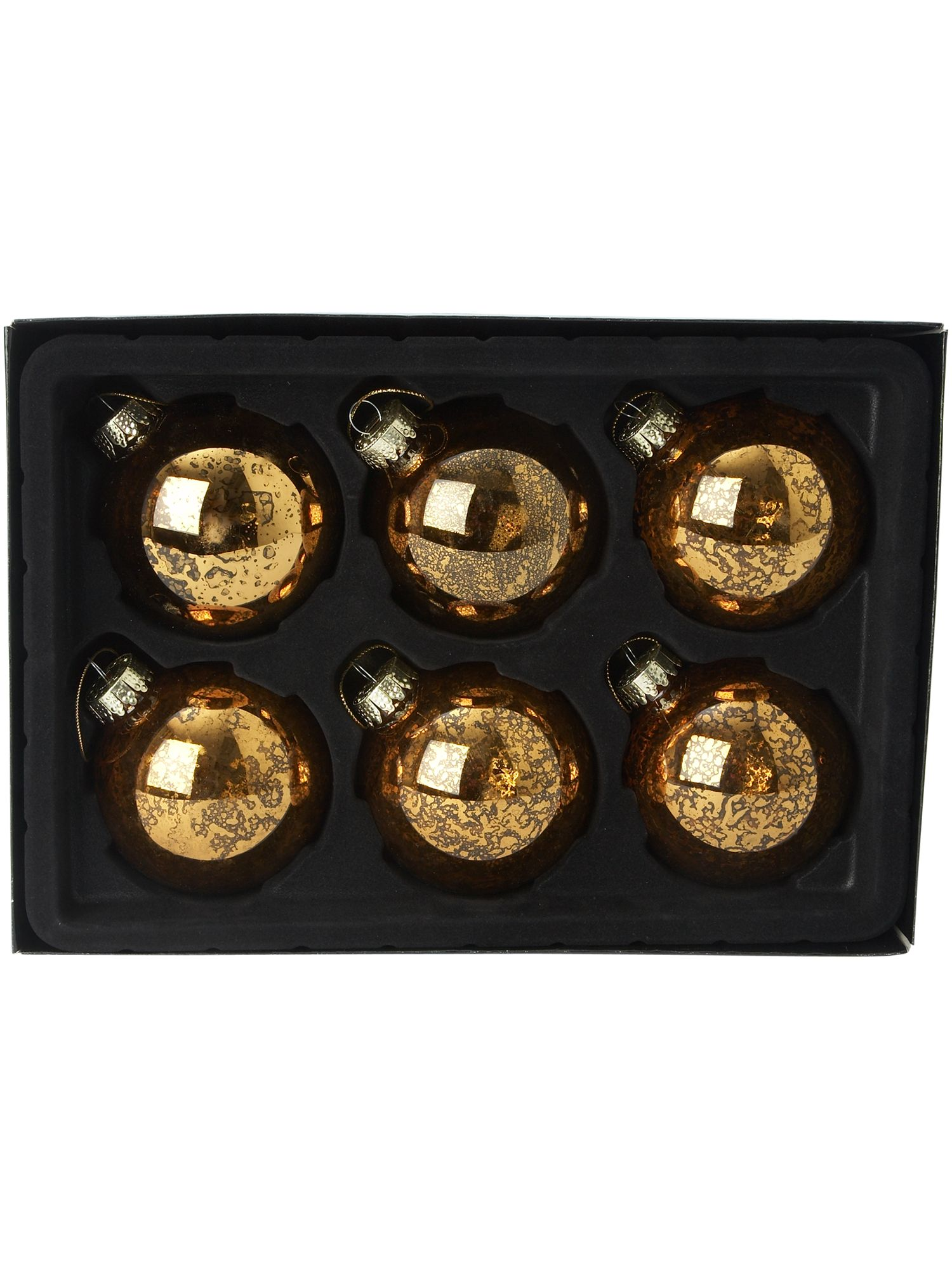 Linea Renaissance six antique baubles