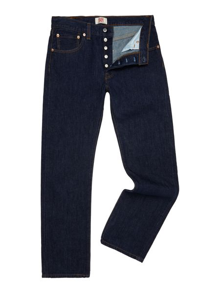 Levi's 501 One Wash Straight Jeans