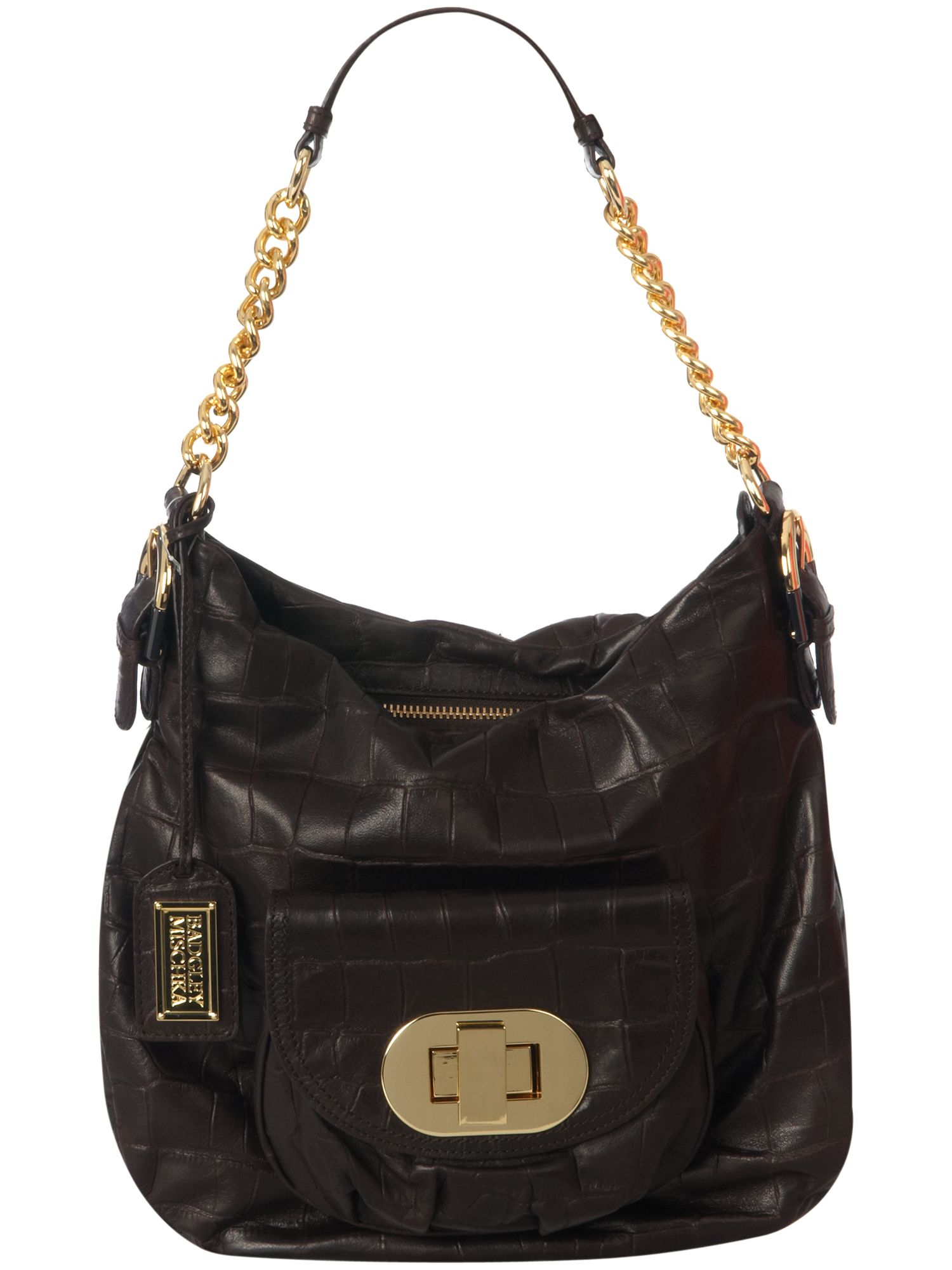 Connie Croco large leather
