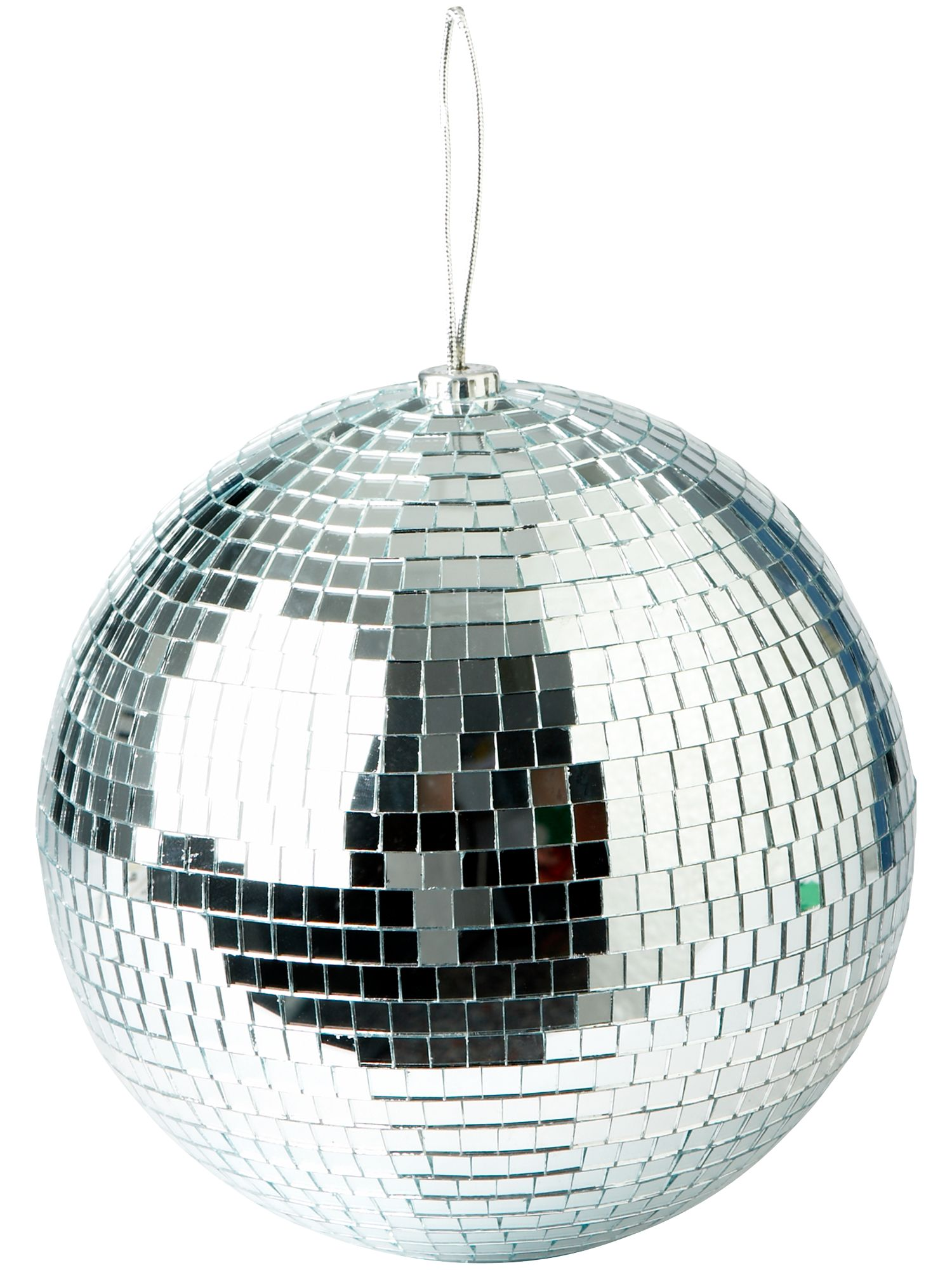 Eclipse large silver mirrored disco ball