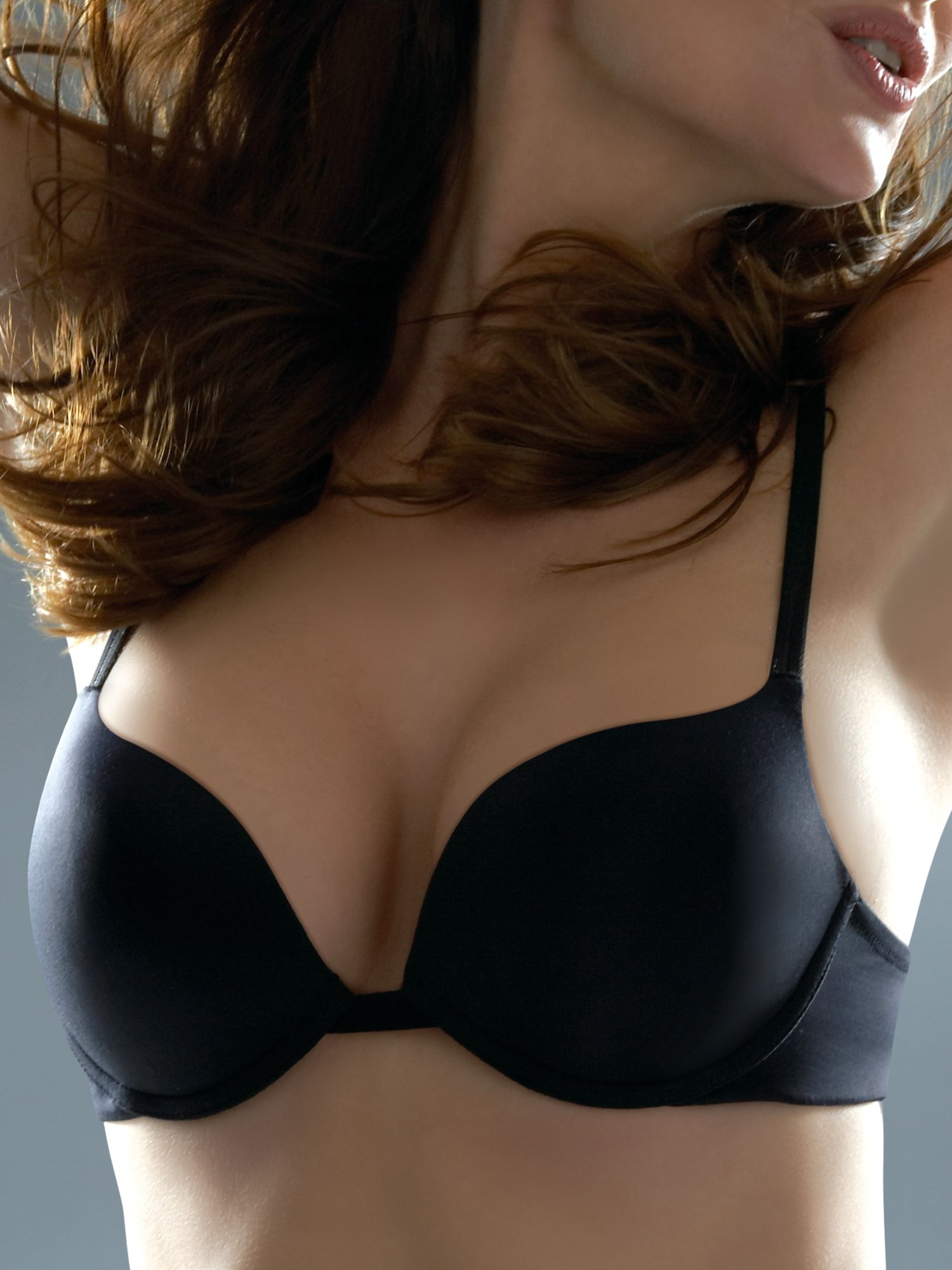 Gel push up bra