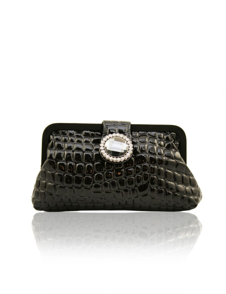Aftershock Carissa snake pattern clutch bag product image