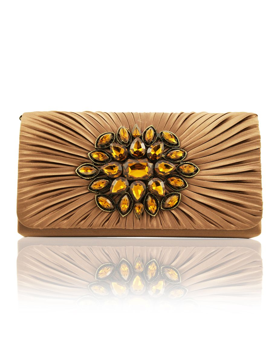 Aftershock Calvin flower cluster clutch bag product image