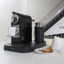 M190 Black Citiz & Milk Nespresso Coffee Machine