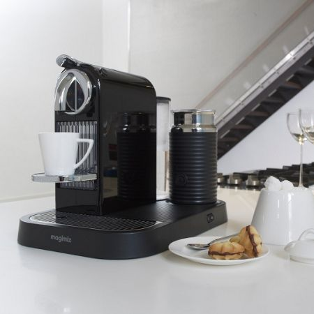 Magimix M190 Black Citiz & Milk Nespresso Coffee Machine