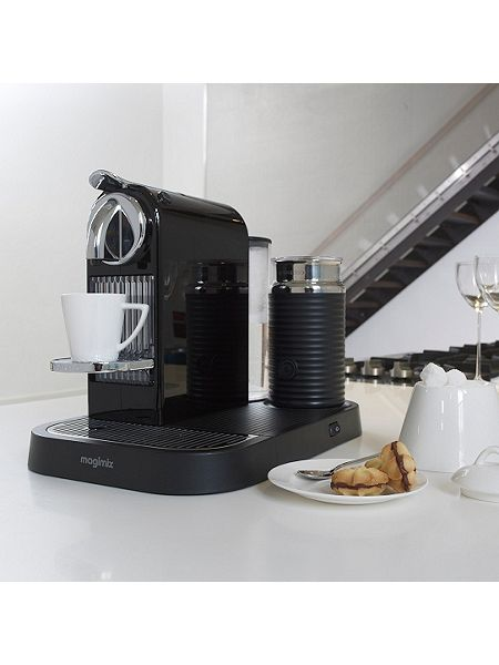 magimix m190 black citiz milk nespresso coffee machine. Black Bedroom Furniture Sets. Home Design Ideas