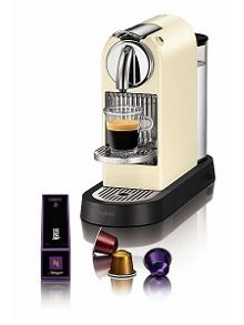 M190 Cream Citiz Nespresso Coffee Machine