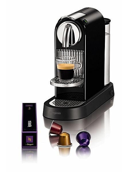 magimix m190 black citiz nespresso coffee machine house. Black Bedroom Furniture Sets. Home Design Ideas