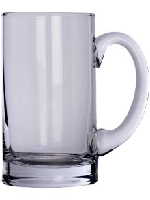 Bar Beer Tankard 750ml Clear