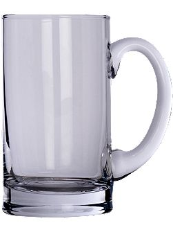 Bar beer tankard clear 750ml