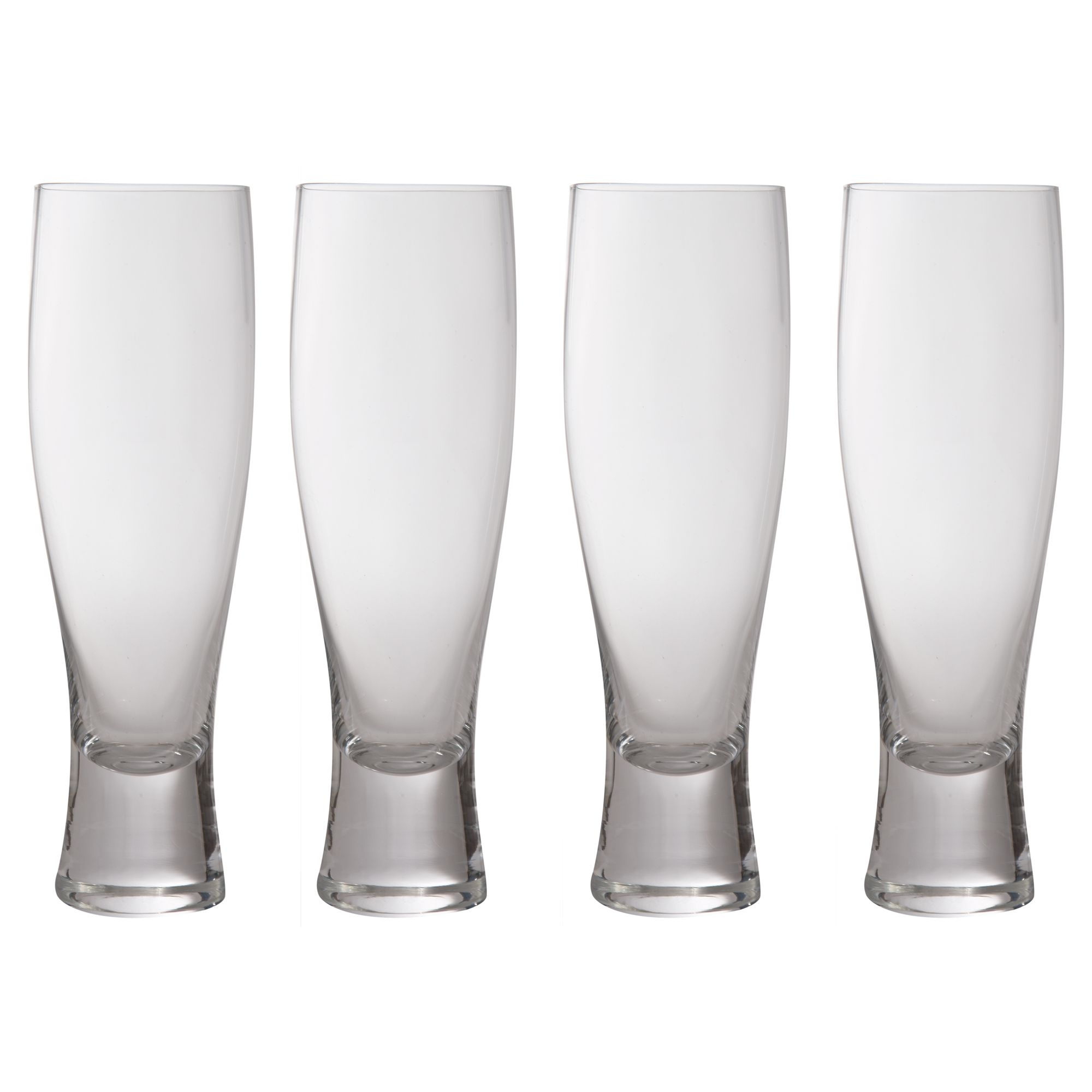 Bar collection lager glasses, set of 4