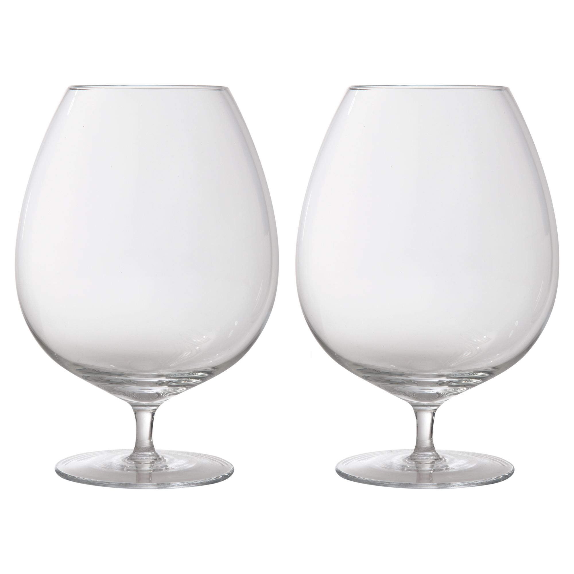 Bar collection brandy glasses, set of 2