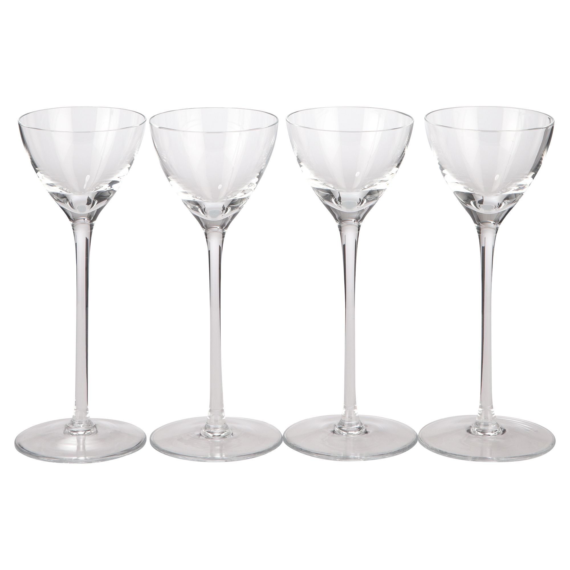 Bar collection liqueur glasses, set of 4