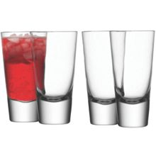 LSA Bar Collection long mixer glasses, set of 4