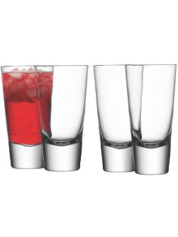 Bar Collection long mixer glasses, set of 4