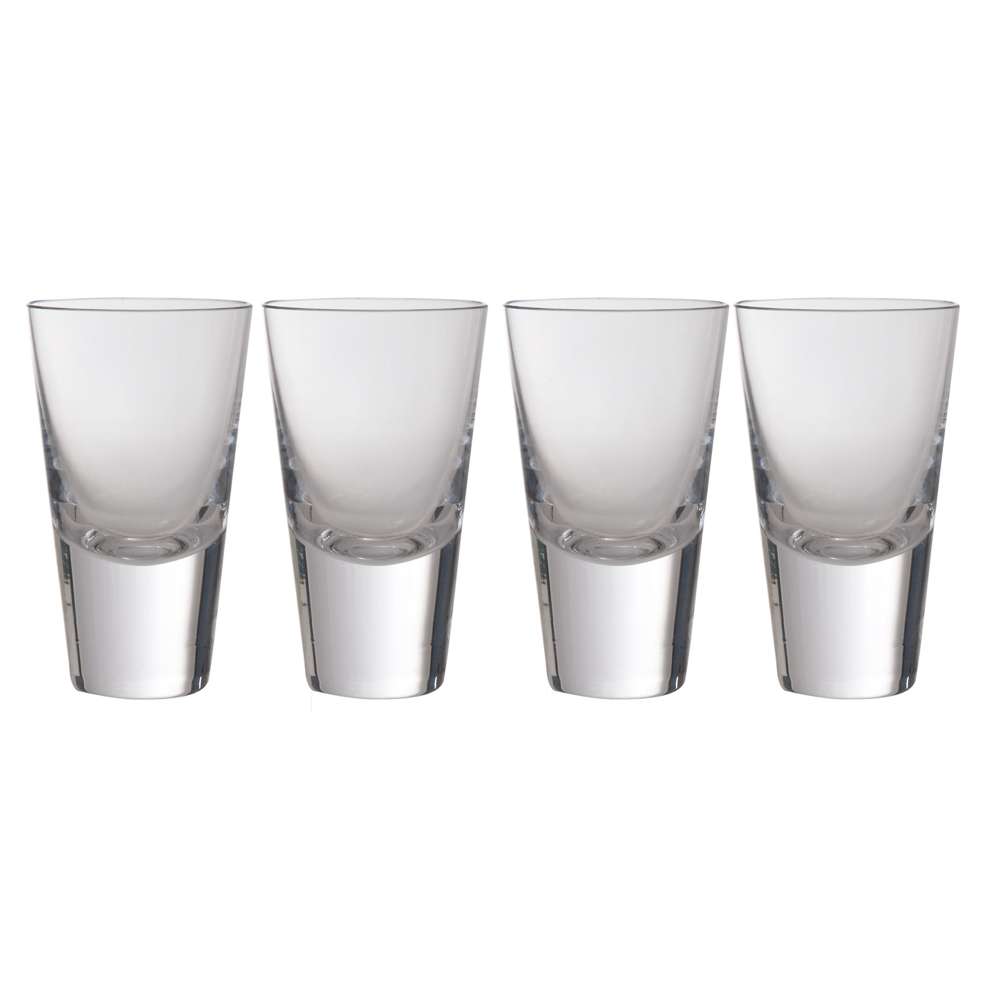 Bar collection shot glasses, set of 4