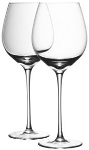 LSA Wine collection red wine glasses, set of 4