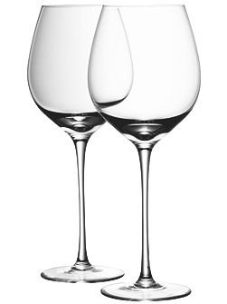 Wine red wine glass x4 clear 750ml