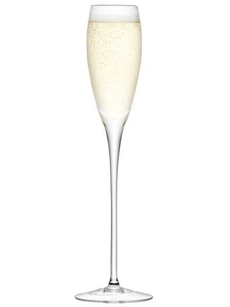 LSA Wine collection champagne flutes, set of 4