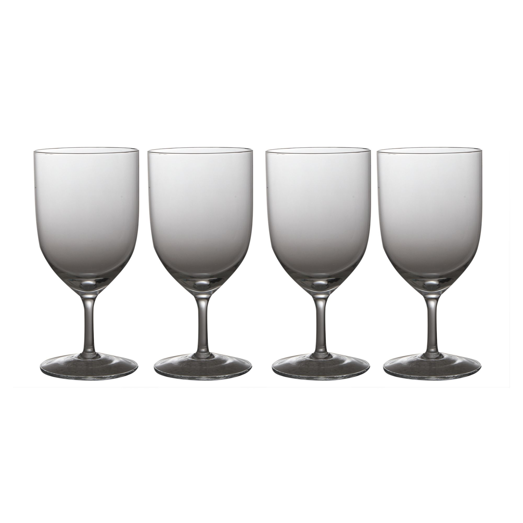 Wine collection water glasses, set of 4