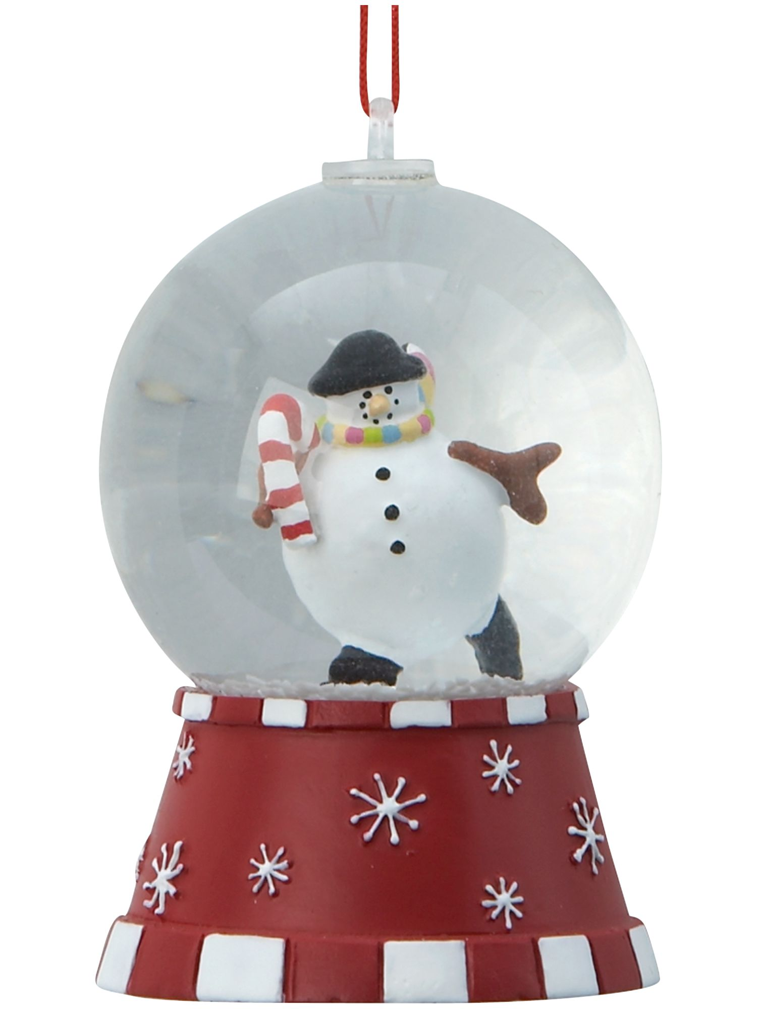 Frosty assorted mini snow globes