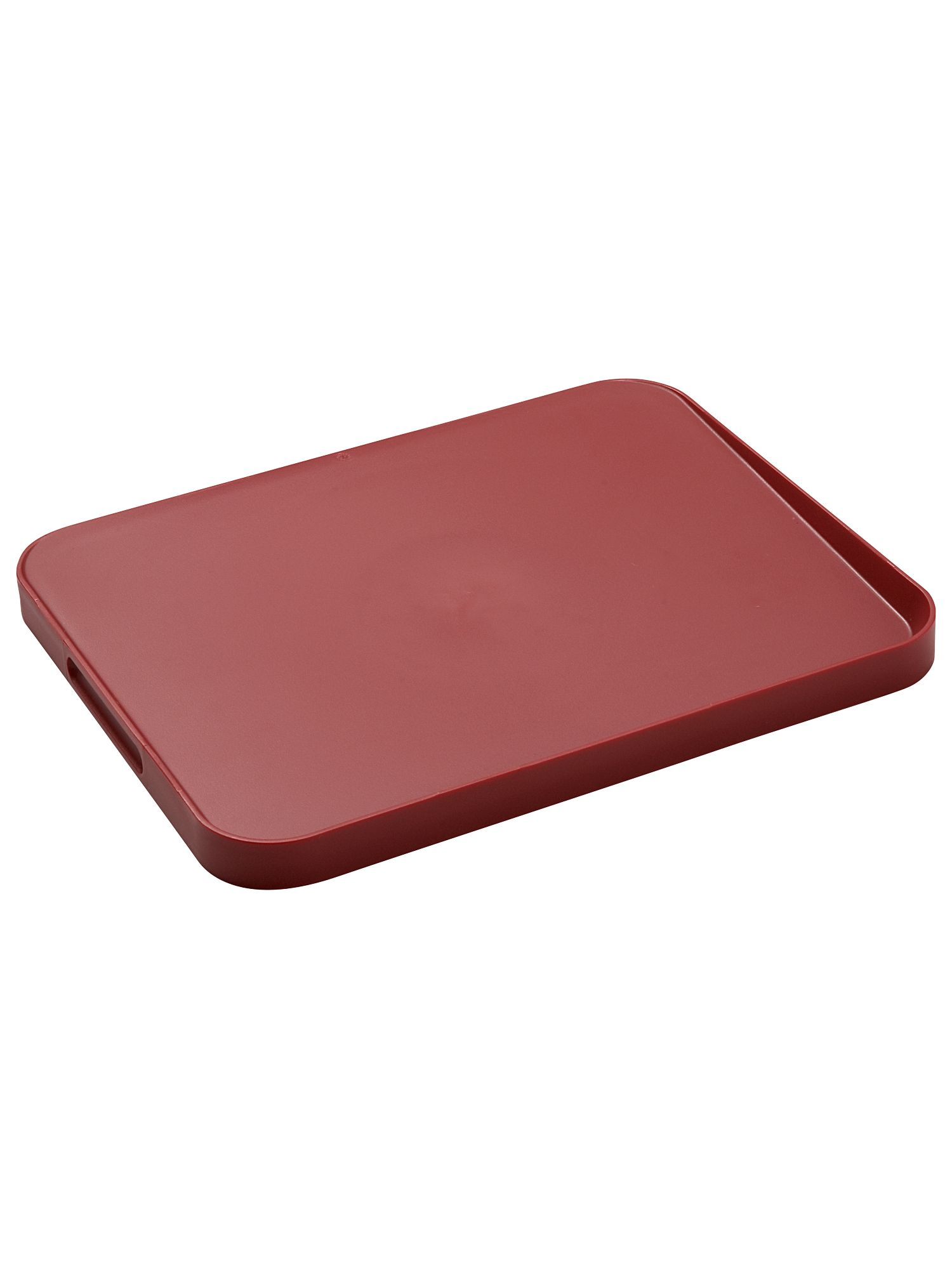 Red Cut & Carve Chopping Board