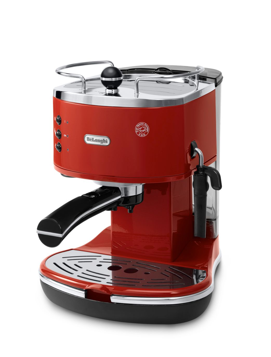 ECO310.R Red Icona Pump Espresso Coffee Maker