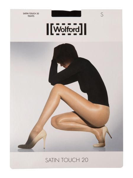 Wolford Satin touch 3 pair pack 20 denier tights