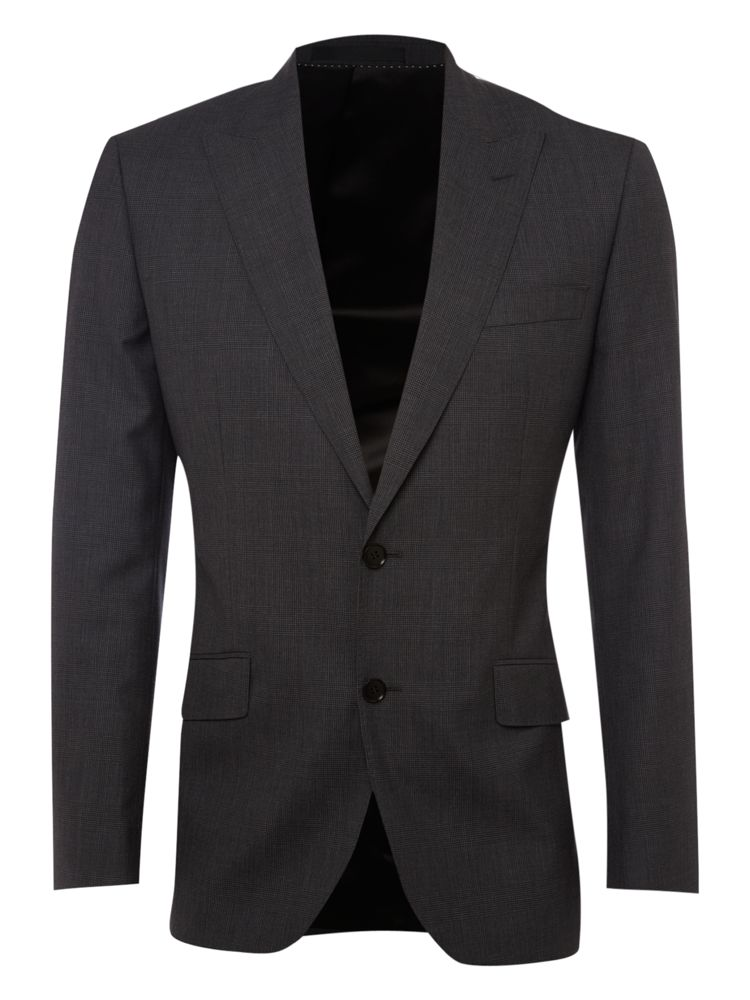 New-Lingwood-Formal-Cambridge-Check-Jacket-In-Charcoal