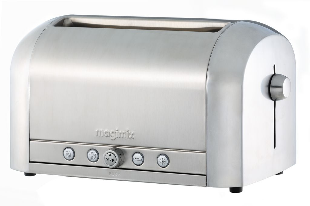 Magimix 4 Slice Brushed Toaster