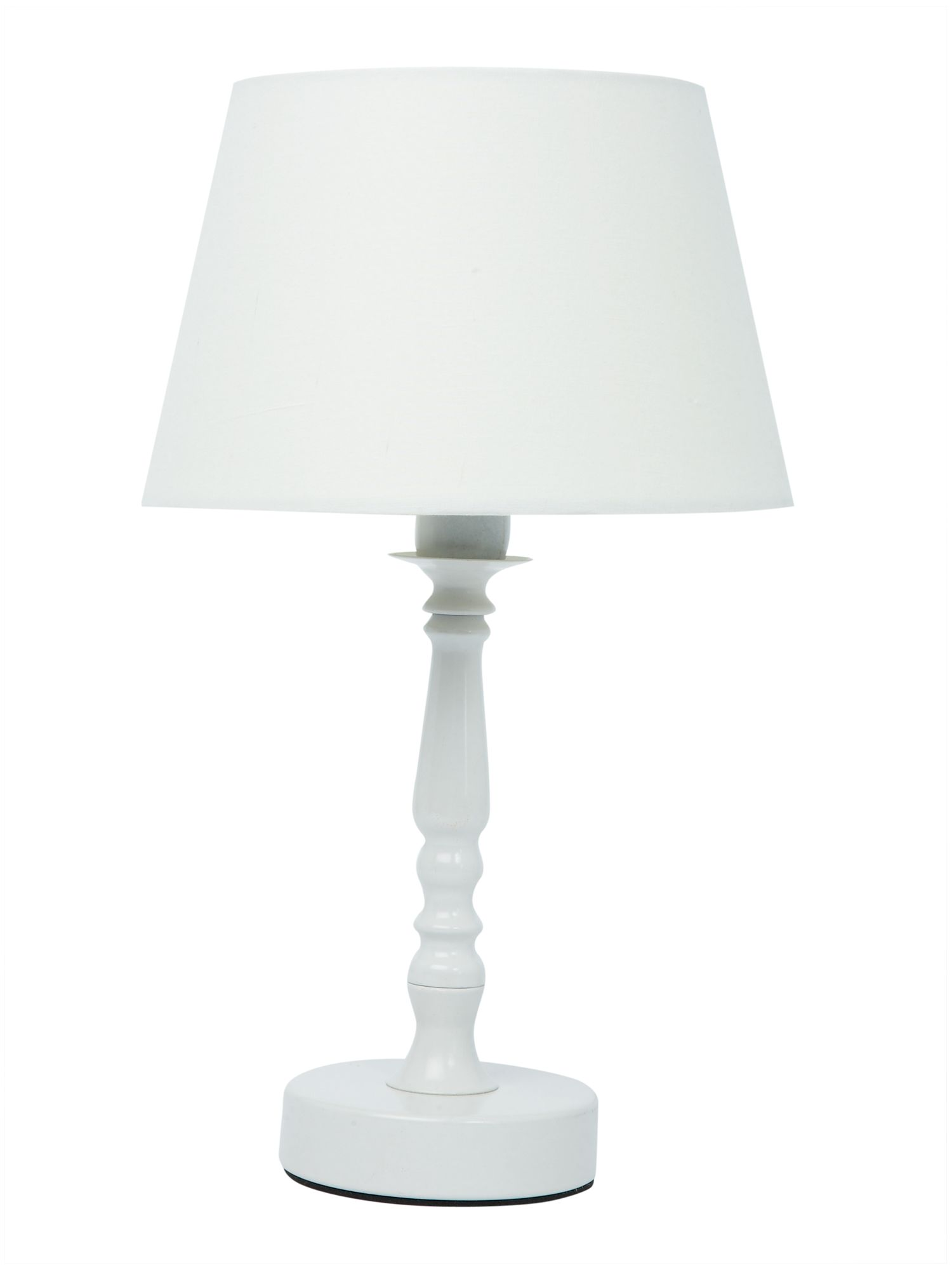 House of Fraser Remo cream table lamp