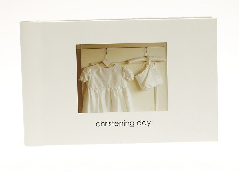 Kitted Out Christening photo book